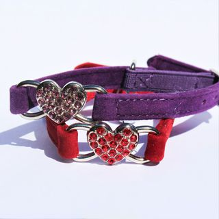Heart Cat Collar